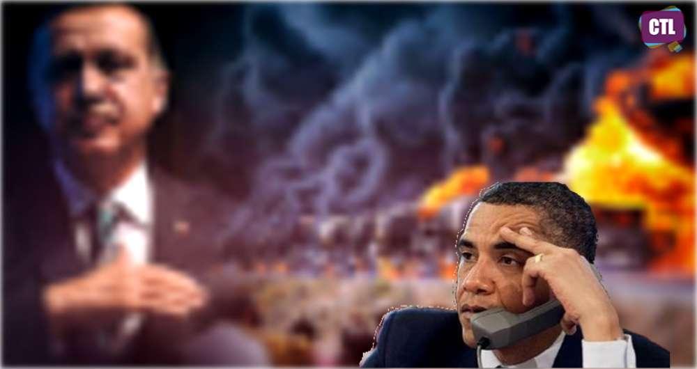 Ar Barakas Obama išsigando, kad jį kartu su Erdoganu gali užpulti tetervinas?