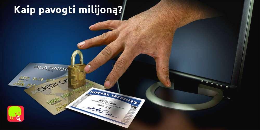 """Programišiai iš banko """"nušvilpė"""" apie 1 milijoną eurų!"""