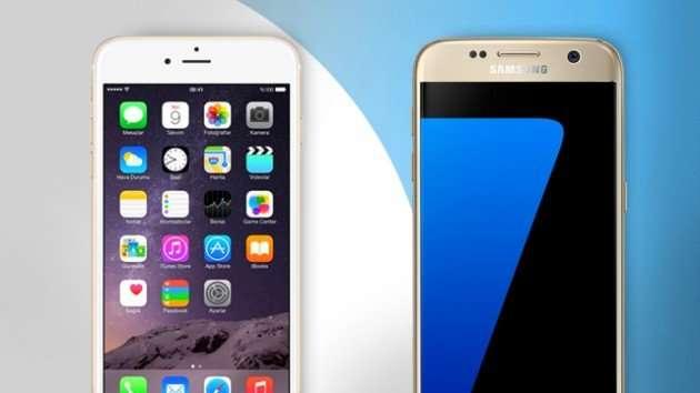 "Ką pasirinkti: ""Samsung Galaxy S7"" ar ""Apple iPhone 6s""?"