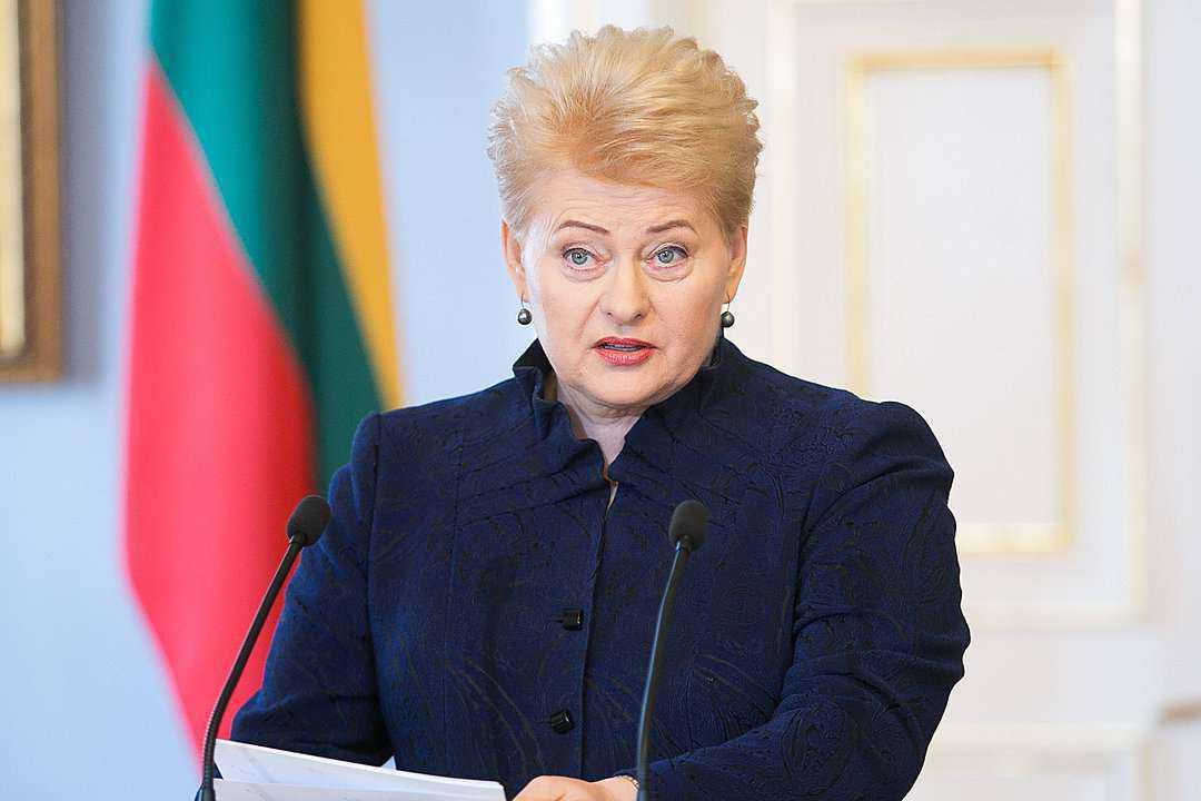 """D. Grybauskaitė: """"J. Milius seniai turėjo trauktis"""""""