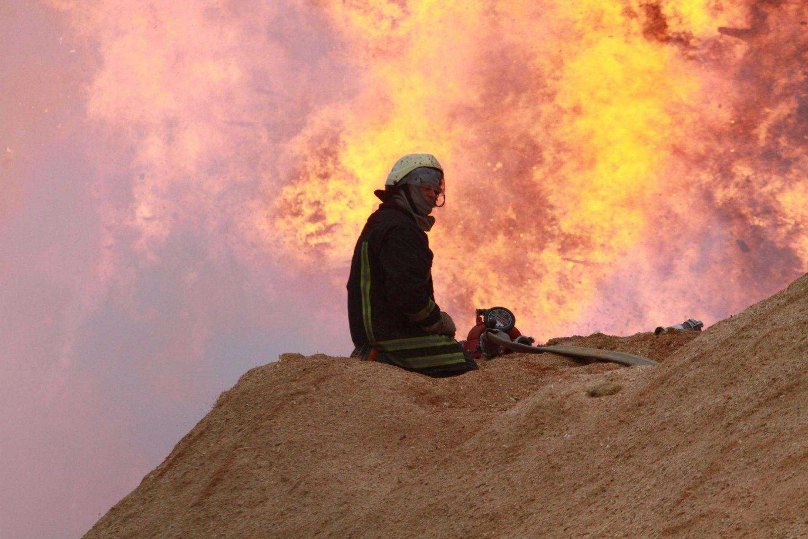 Ekstremalus gaisras Radviliškyje: liepsnos nevaldomos, žarijos sėda ant namų
