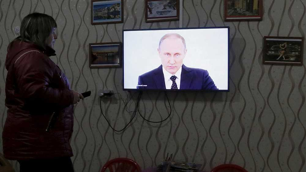 Kodėl rusai žiūri televiziją, nors ja netiki?