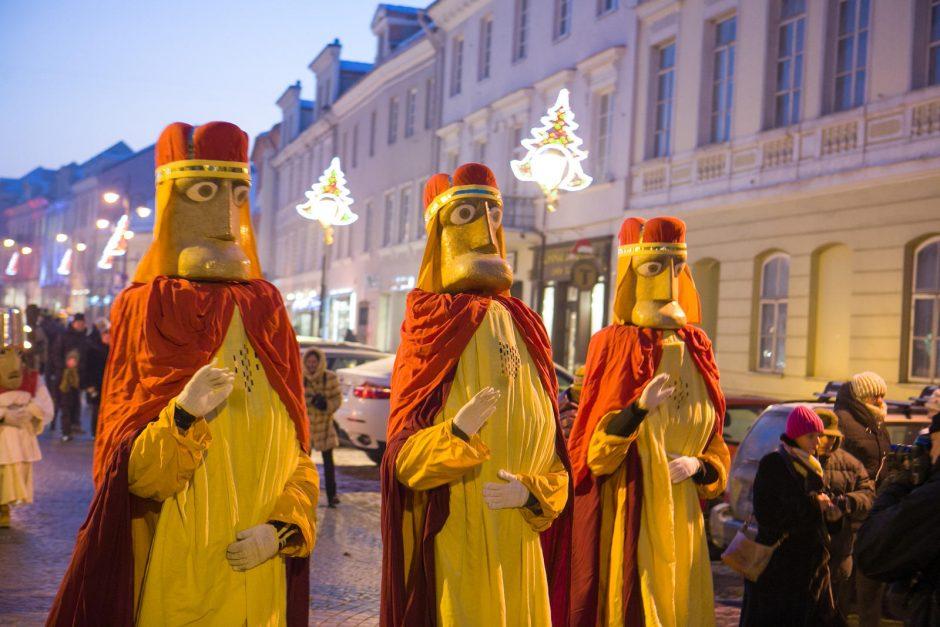 Renginys Vilniuje - Trijų Karalių eisena