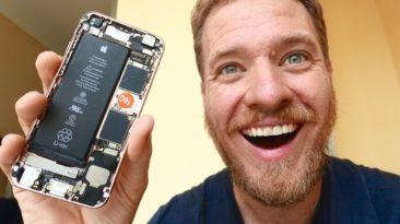 Buvęs Google darbuotojas laisvalaikiu surinko iPhone 6 išmanųjį iš Kinijos gatvėse parduodamų detalių: kiek kainavo ir kas iš to išėjo