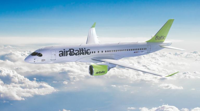 """""""airBaltic"""" skelbia pirmas penkias naujas 2018-ųjų vasaros kryptis"""