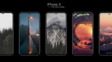 Naujasis IPHONE X Tiesiogiai