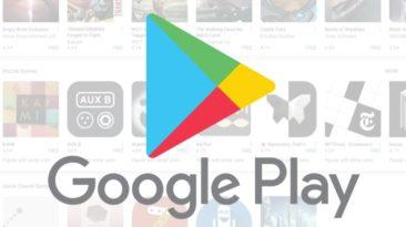 """""""Google Play"""" rastos fiktyvios kriptovaliutos prekybos programėlės."""