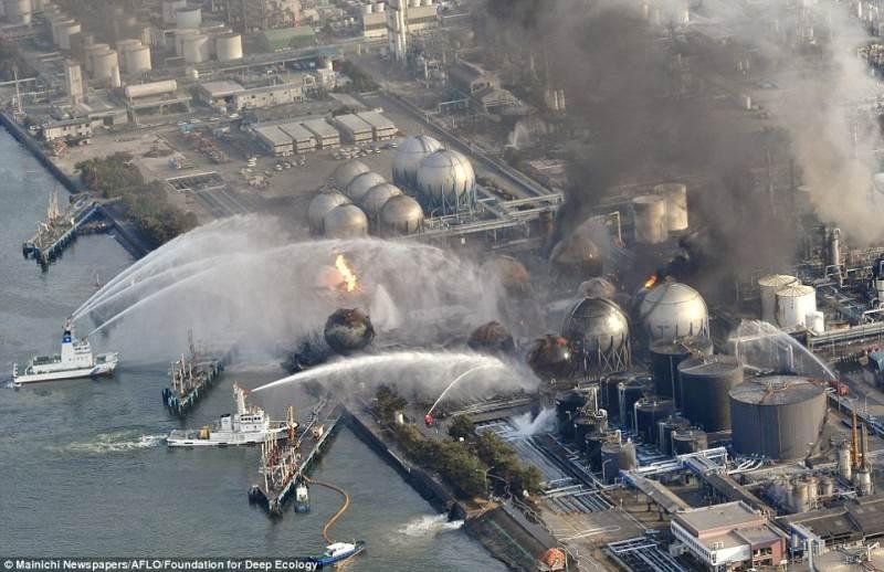 Kol visas pasaulis sekė 2011 m. Fukušimos istoriją, už kelių kilometrų nuo jos degė šiluminė elektrinė. Visi bandymai užgesinti gaisrą baigėsi nesėkme.