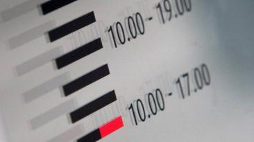 Viena darbo valanda per metus Lietuvoje pabrango 8 proc