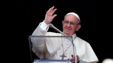 Popiežiaus sveikinimas visiems gyvenantiems Baltijos šalyse