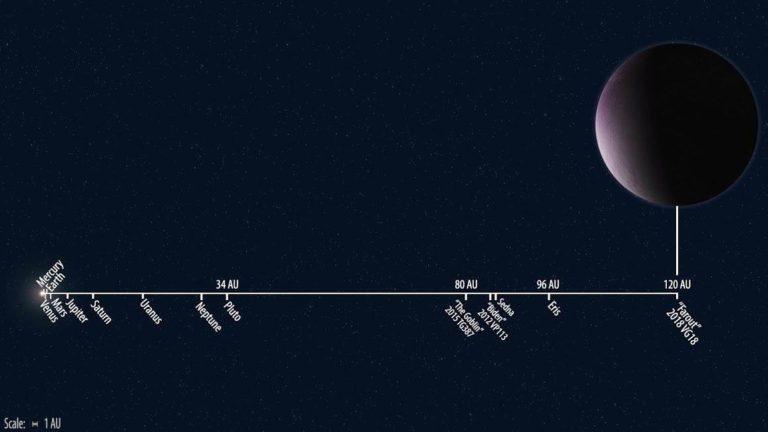Nauja nykštukinė planeta Farout – tolimiausia, kokią esame matę