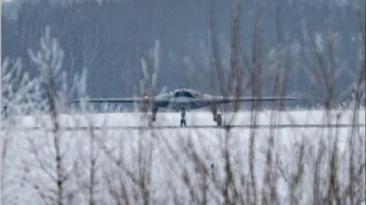 Rusijoje užfiksuotas naujas bepilotis orlaivis