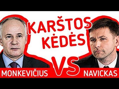 Švietimo eksperimentai II Monkevičius VS Navickas || Karštos kėdės
