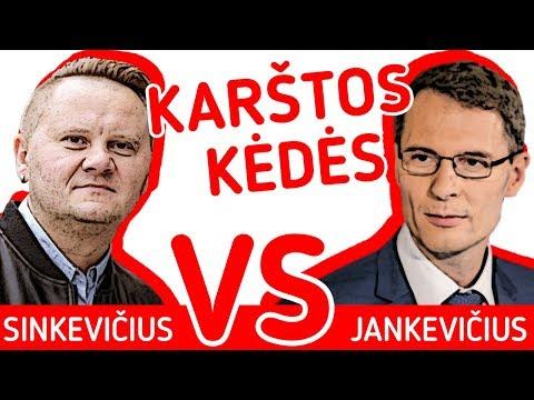 Kas valdys Lietuvos kalėjimus – ministras ar bachūrai?   Sinkevičius VS Jankevičius   Karštos kėdės