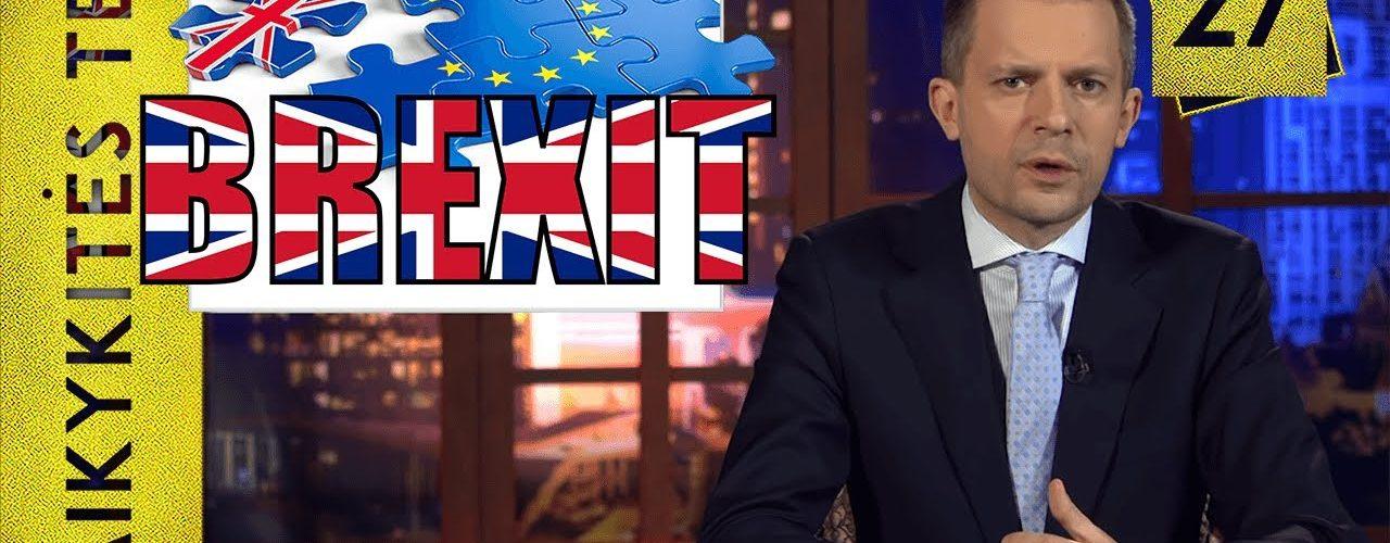 Brexit ir olimpiniai čempionai || Laikykitės ten su Andriumi Tapinu || S03E27