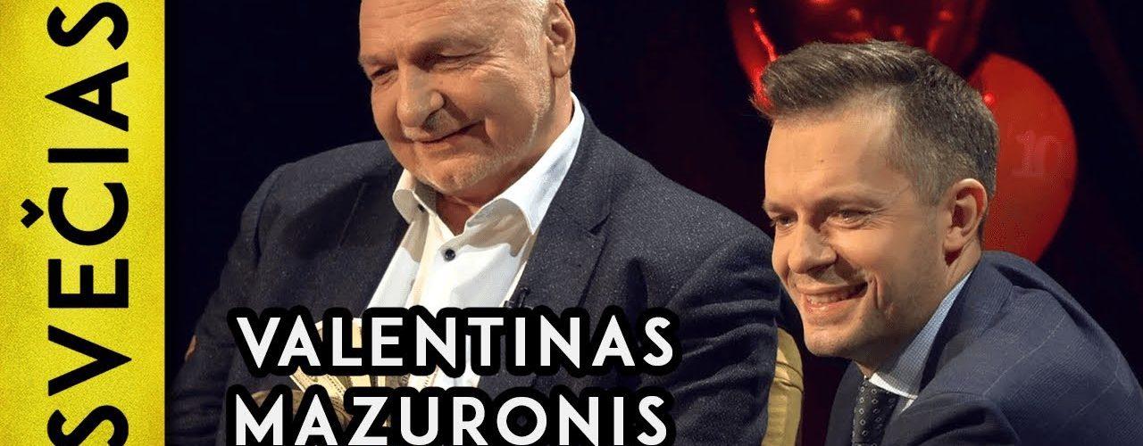 """""""Lažinuosi, kad surinksiu 20 000 parašų"""" – Valentinas Mazuronis    Laikykitės ten pokalbiai"""