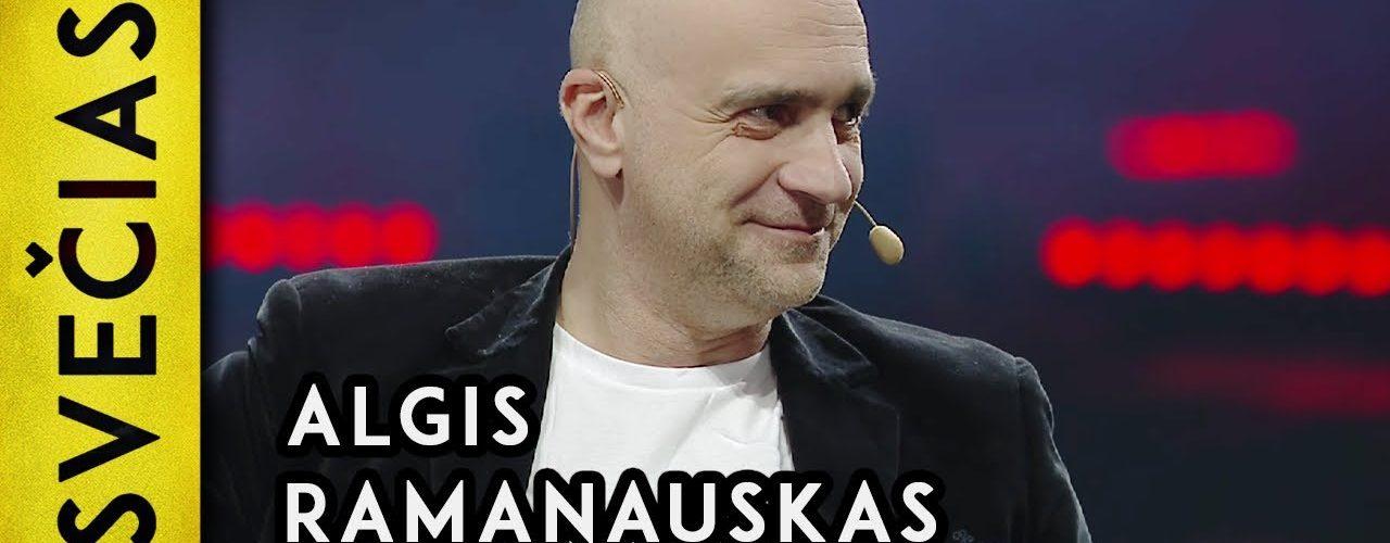 Algis Ramanauskas || Naujametinis Laikykitės ten pokalbis