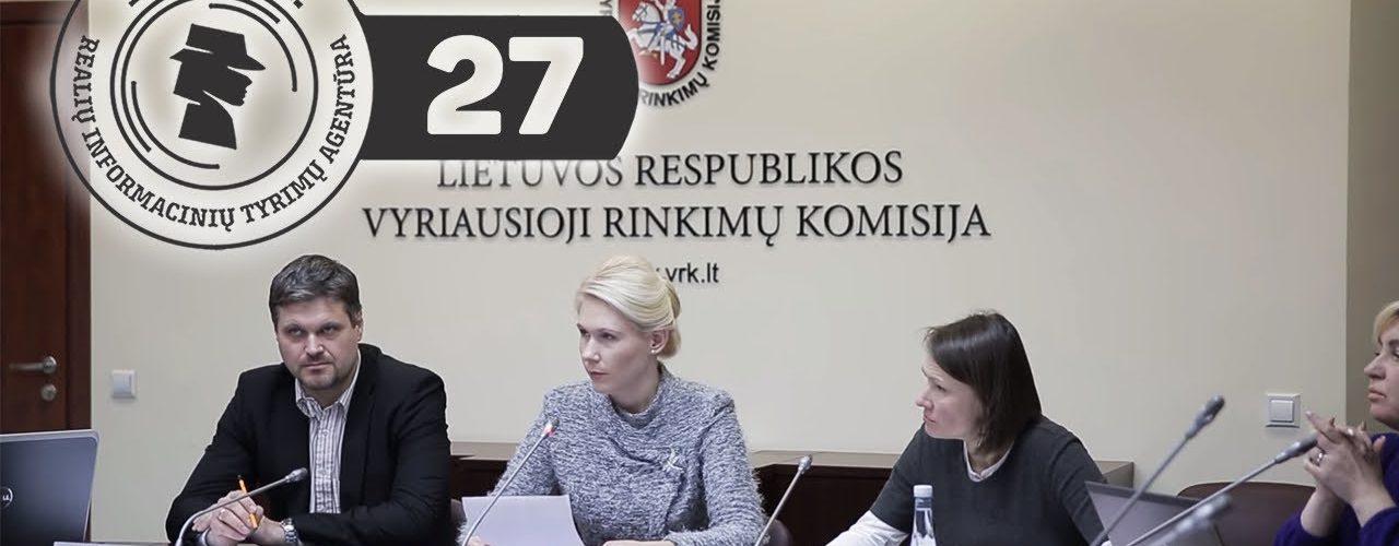 Laura Matjošaitytė ir jos Vyriausioji rinkimų komisija || R.I.T.A.|| S01E27