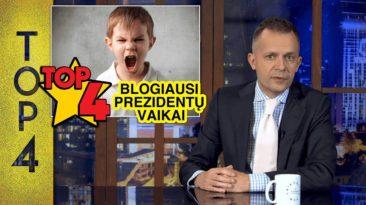 TOP4 Blogiausi prezidentų vaikai || Laikykitės ten su Andriumi Tapinu
