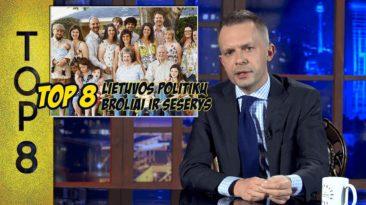 TOP8 Lietuvos politikų broliai ir seserys || Laikykitės ten su Andriumi Tapinu