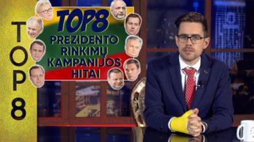 TOP8 Prezidento rinkimų kampanijos hitai || Laikykitės ten su Andriumi Tapinu