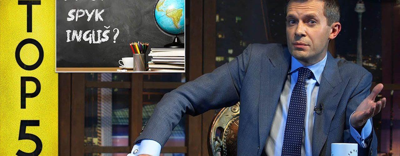 TOP5 angliškai kalbantys Lietuvos politikai || Laikykitės ten su Andriumi Tapinu