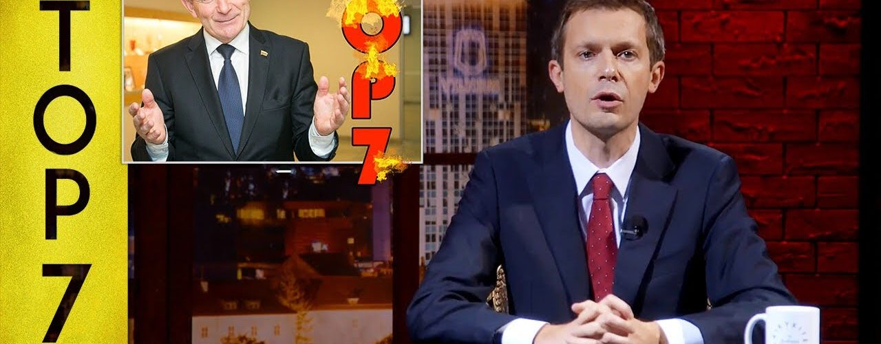 TOP 7 Seimo pirmininko užlėkimai    Laikykitės ten su Andriumi Tapinu
