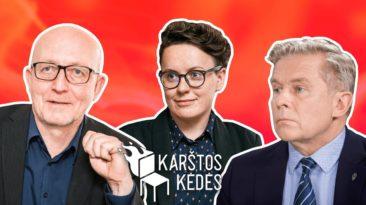 TV su gėjais – Lietuva be ateities || Juškaitė, Valinskas, Ažubalis || Karštos kėdės