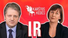 Kas į Lietuvą greičiau – gripas ar skiepai nuo jo? || Karštos kėdės