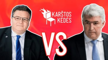Dialogas su Minsku – gera partija ar kvailių žaidimas? || Karštos kėdės