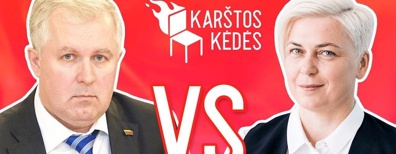 Cvirka. Griauti negalima palikti II Anušauskas VS Kreivytė II Karštos kėdės