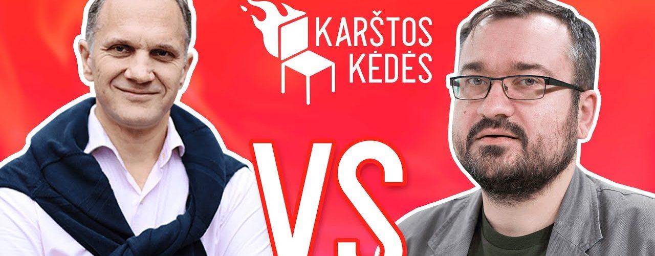Ar agresyvi rinkimų kampanija padės kandidatui į prezidentus S.Skverneliui? II Karštos kėdės