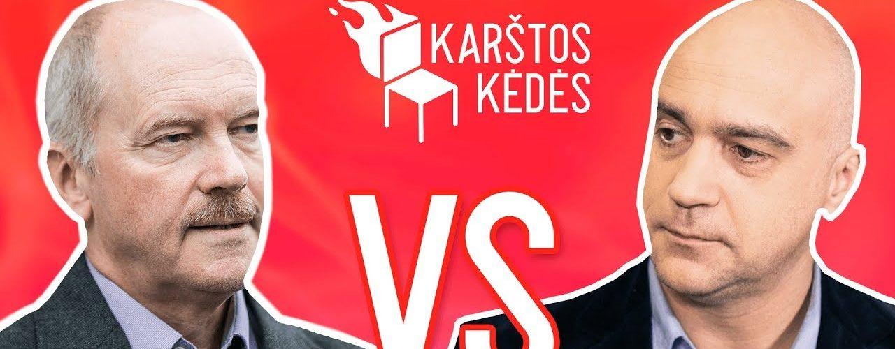 Žali ir raudoni II Ramanauskas VS Jonušys II Karštos kėdės
