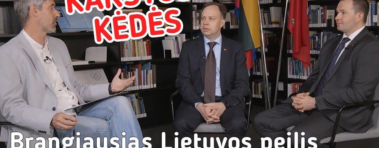 Brangiausias Lietuvos peilis || Karštos kėdės || S01E02