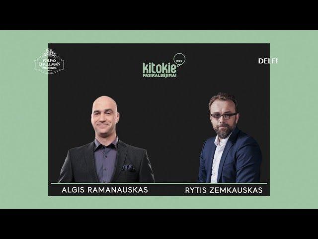 """""""Kitokie pasikalbėjimai"""" su Algiu Ramanausku"""