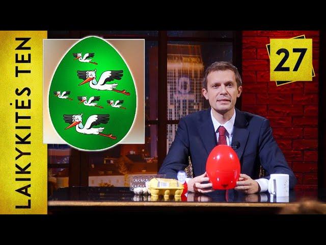Politikų kiaušiniai ir Kembridžo stiliaus analizė || Laikykitės ten su Andriumi Tapinu || S02E27