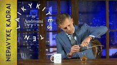 Kadrai, kurių neturėjo išvysti žiūrovai || Laikykitės ten su Andriumi Tapinu || S04