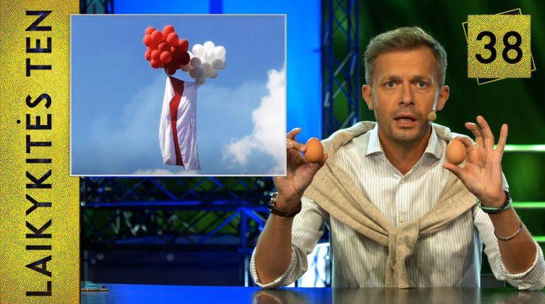 Laisvės piknikas x4 ir mūšis su balionėliais || Laikykitės ten su Andriumi Tapinu || S04E38