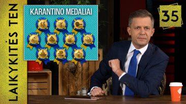 Karantino medaliai || Laikykitės ten su Andriumi Tapinu || S04E35